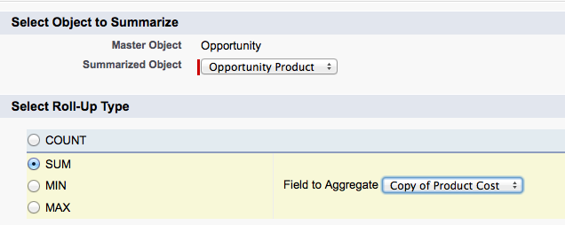 Salesforce Roll-up Summary using the value of a Formula Field